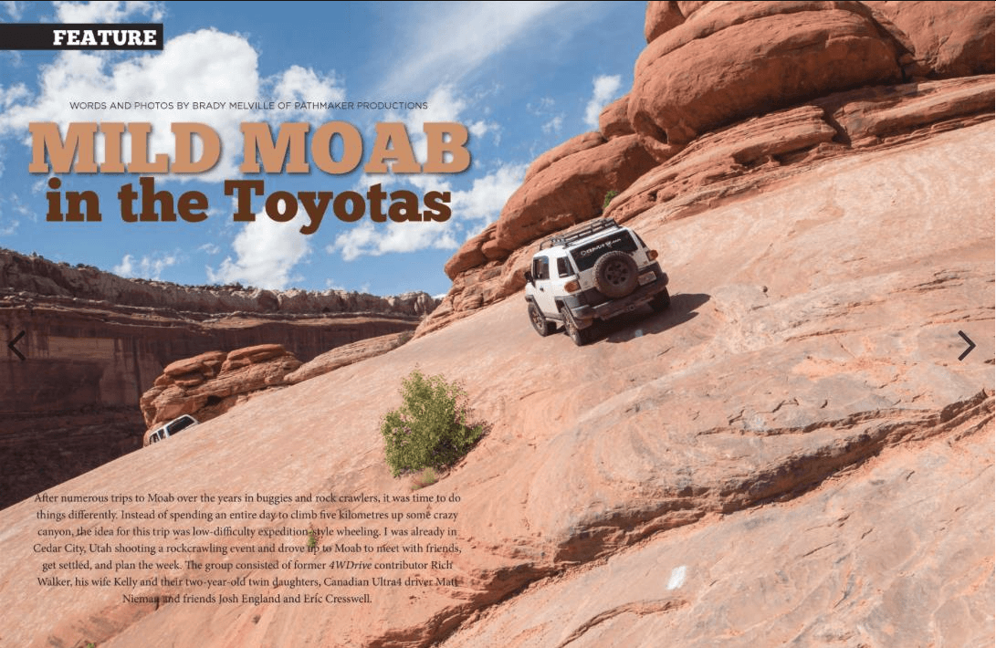 Mild Moab Toyota's