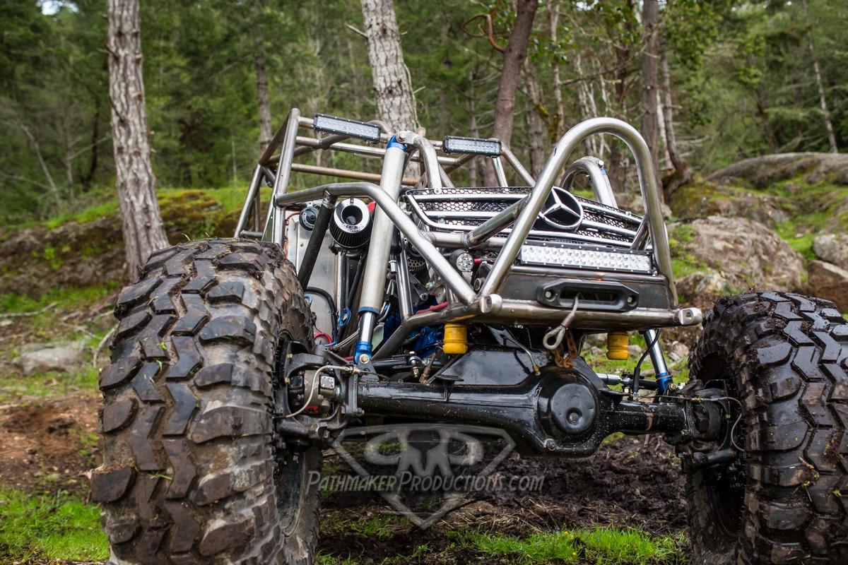 Mercedes Rock Buggy Shakedown Run