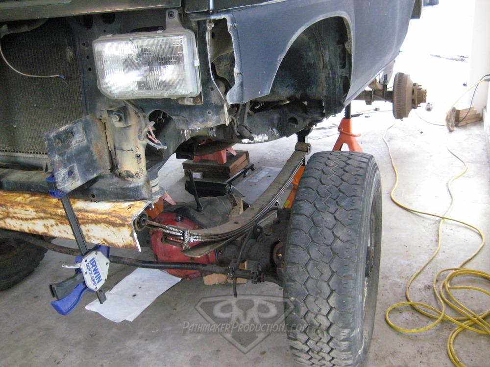 Nissan Pathmaker OneTon SAS Build – Part 4