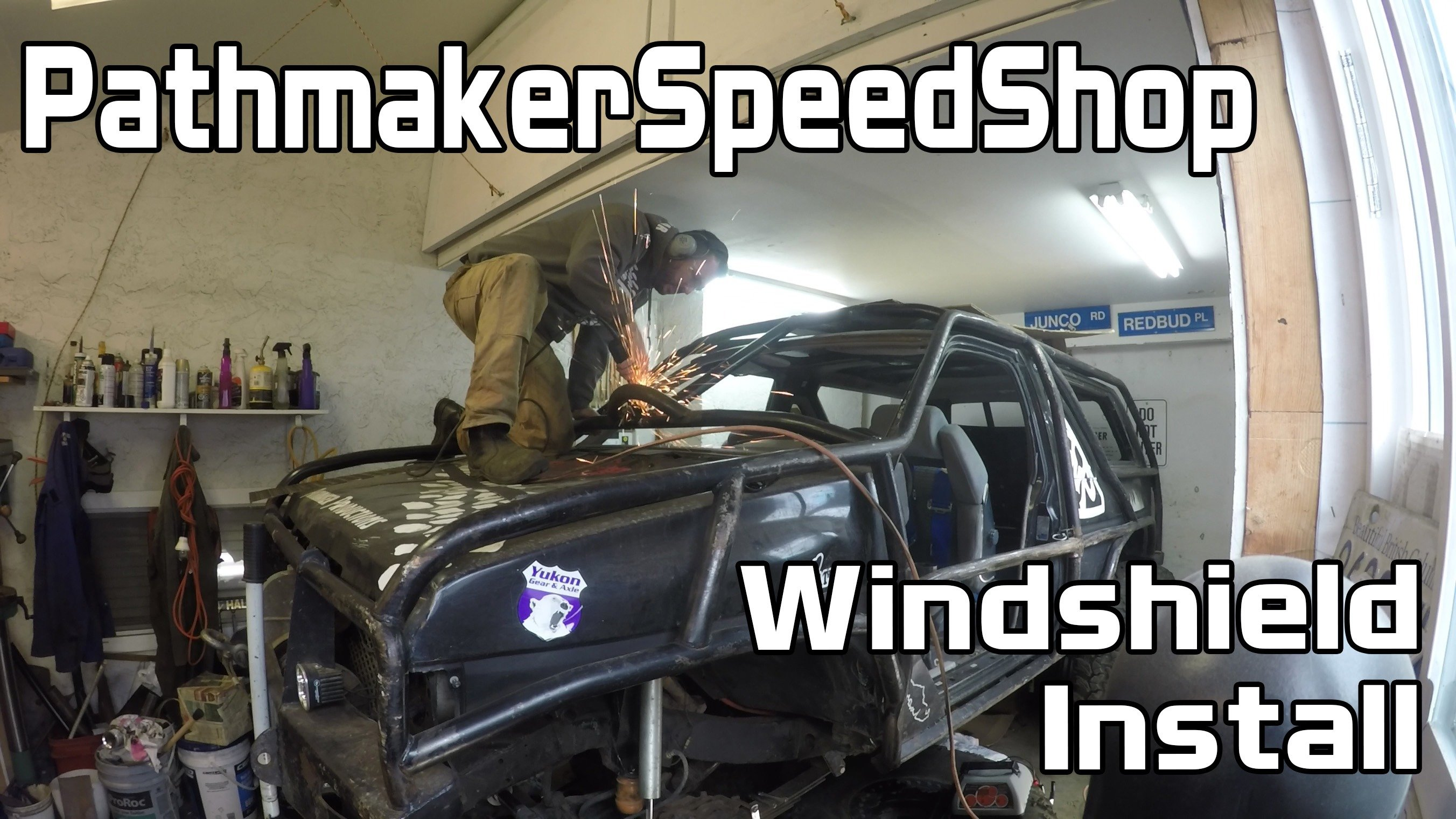 Windshield Install – Pathmaker Speed Shop