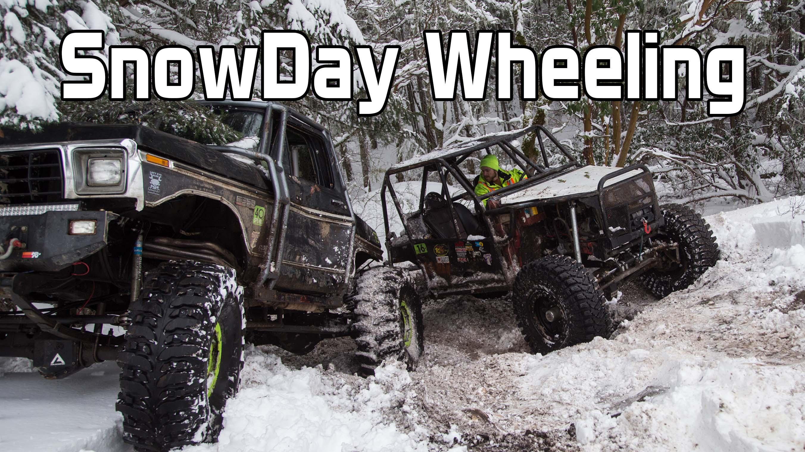 Snow Day Trail Wheeling