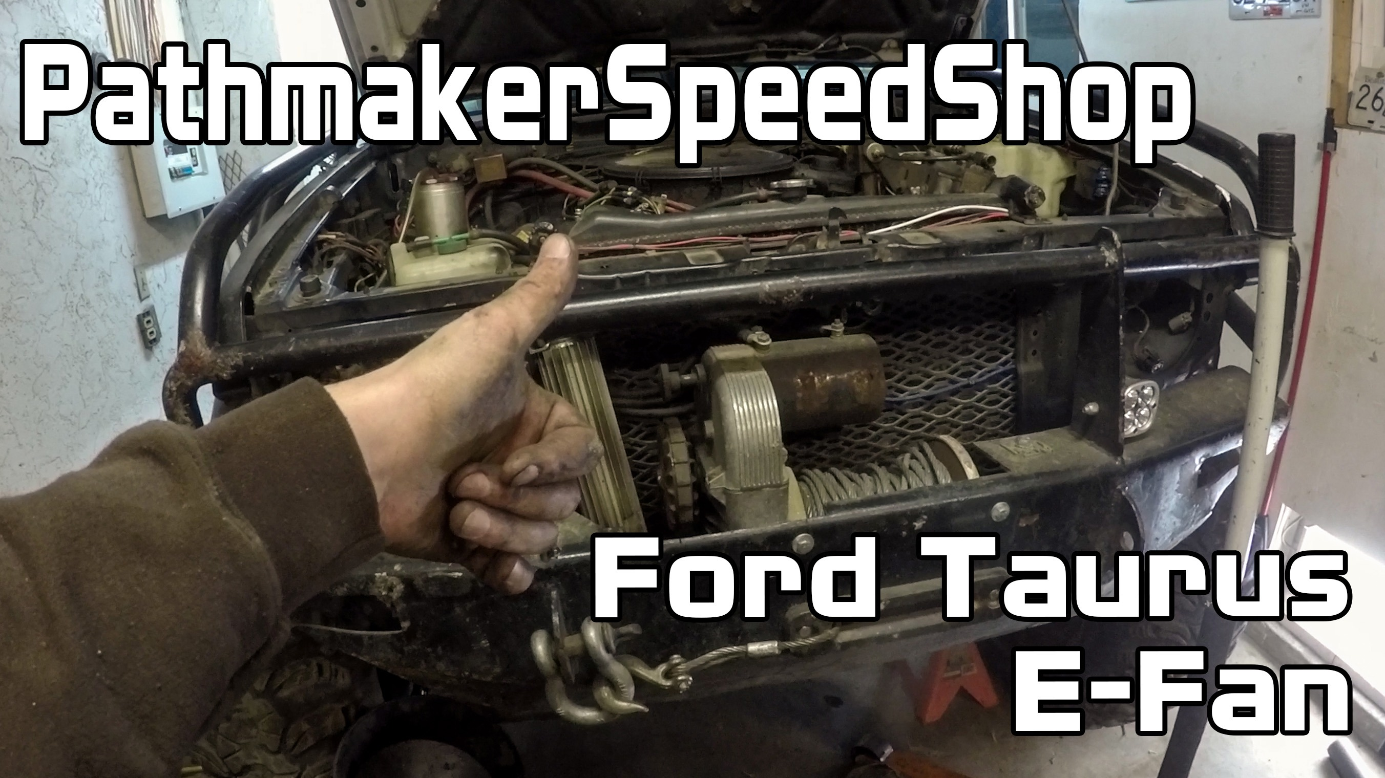 Ford Taurus E-Fan Install – Pathmaker Speed Shop