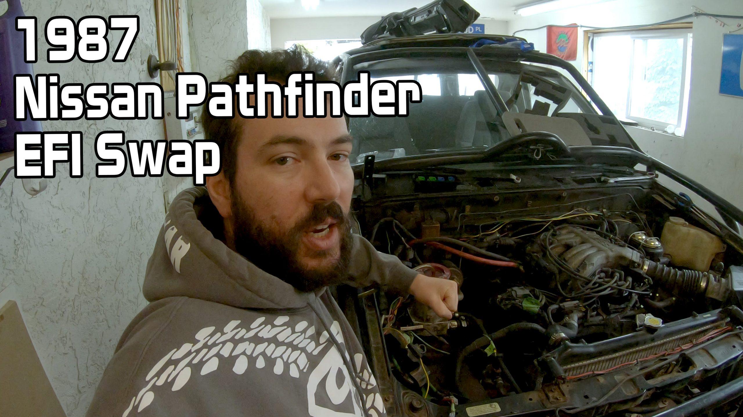Nissan Pathfinder VG30i EFI Swap